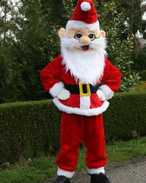 Kerstman mascotte